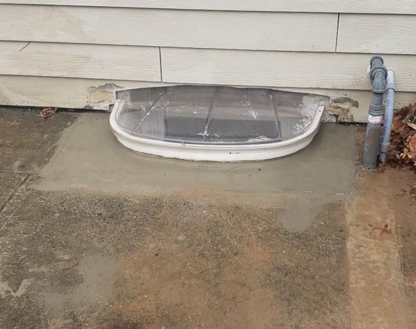 SunHouse Basement Window Enclosure Keeps Rain Out of the WindowWell - Watchung, NJ