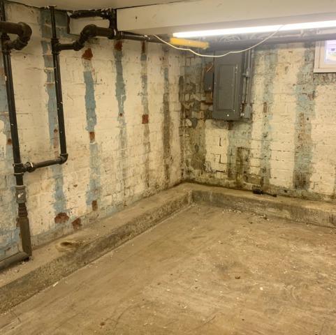 CleanSpace Water Vapor Barrier System for Wet Basement Walls - Shrewsbury, NJ