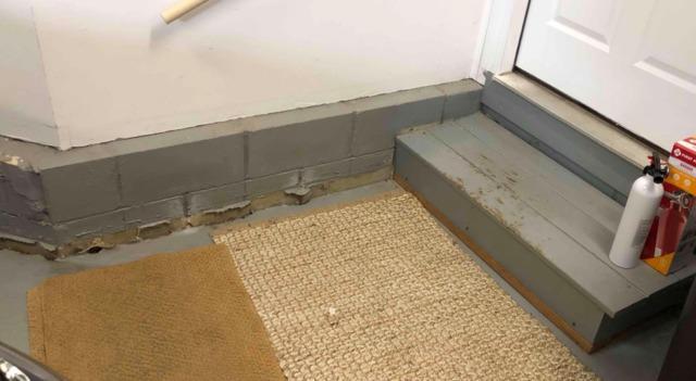 Lifting a Sinking Garage Floor in Shrewsbury, NJ