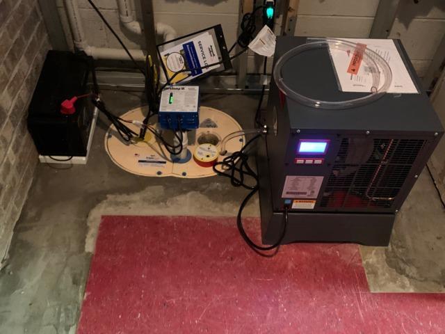 WaterGuard and Triple Safe Sump Pump System - Hamilton Township, NJ