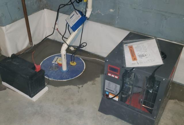 Reducing Moisture in the Basement - Orange, NJ