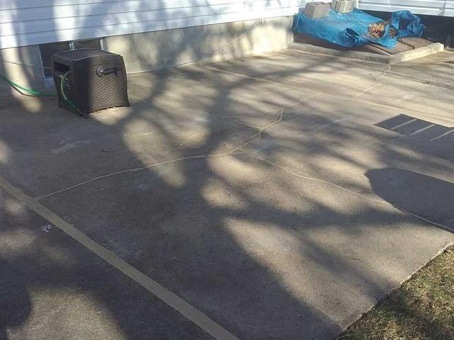 Lifting and Sealing a Patio in Kendall Park, NJ