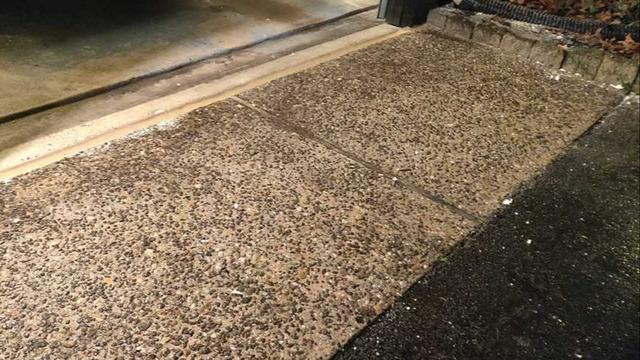 Driveway Slab In Voorhees Township, NJ Lifted