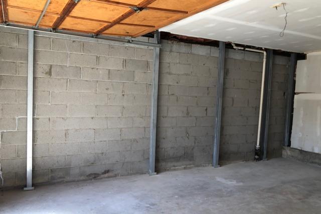 Pompton Lakes, NJ Garage Wall Repair