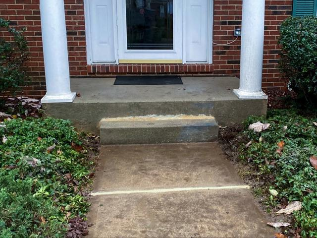 Concrete Steps Lifted & Leveled In Chesterfield, NJ
