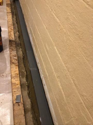 Basement Waterproofing System Installation in Matawan, NJ