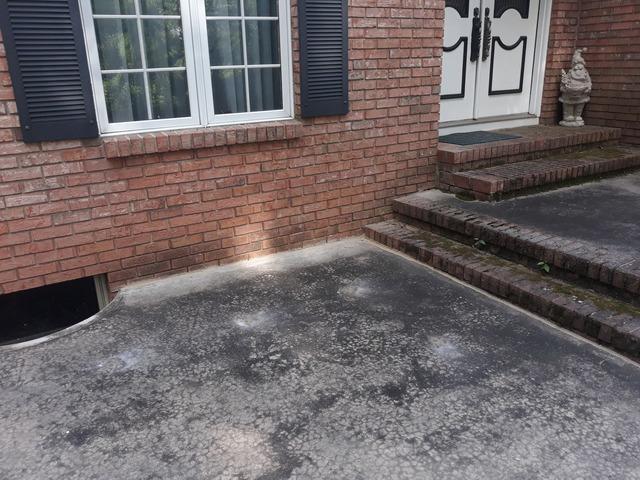 Concrete Patio Raised & Leveled In Ringoes, NJ