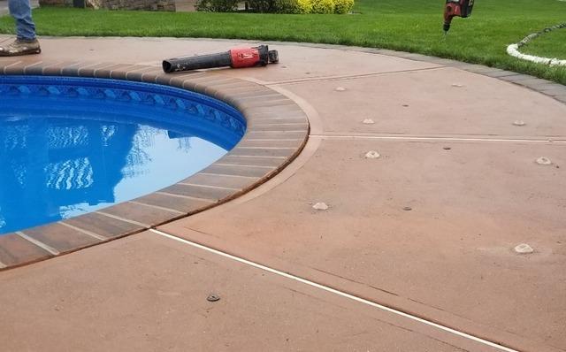 Pool Deck Repair in Manalapan, NJ