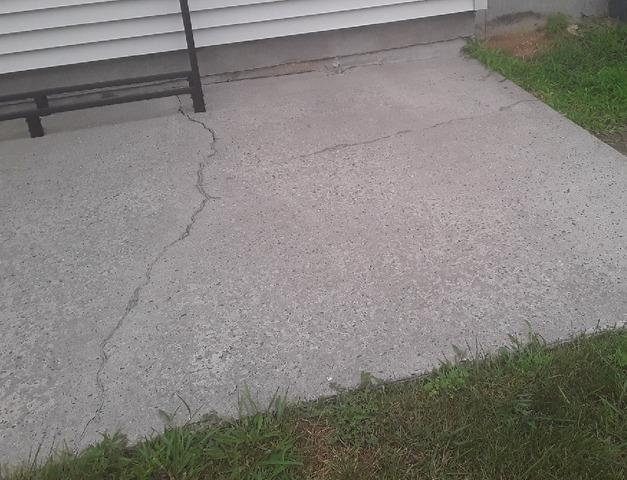 Concrete Patio Area Repaired in Belmar, NJ