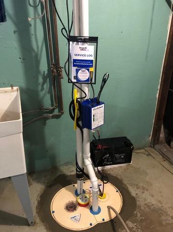 SumpPump Installation In Belmar, NJ