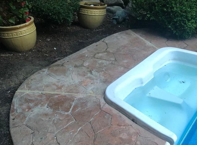 Raising Pool Patio in Manalapan, NJ