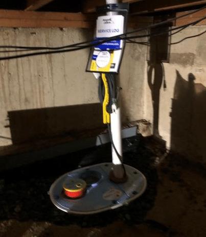 Crawl Space Waterproofing System Installation in Trenton, NJ