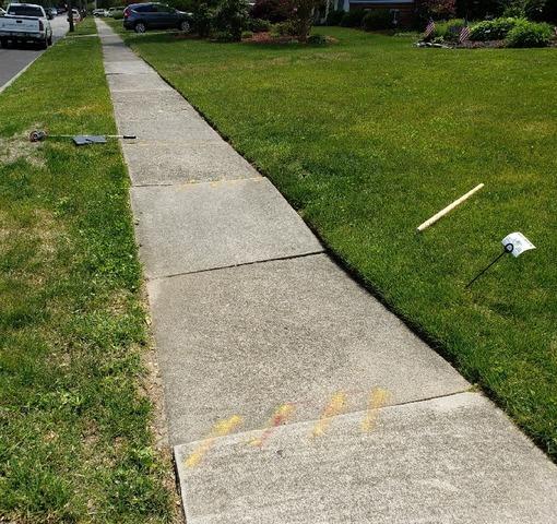 Sidewalk Lifting in Camden County, NJ