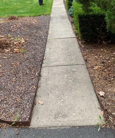 Concrete Walkway Lifted in Oak Ridge, NJ