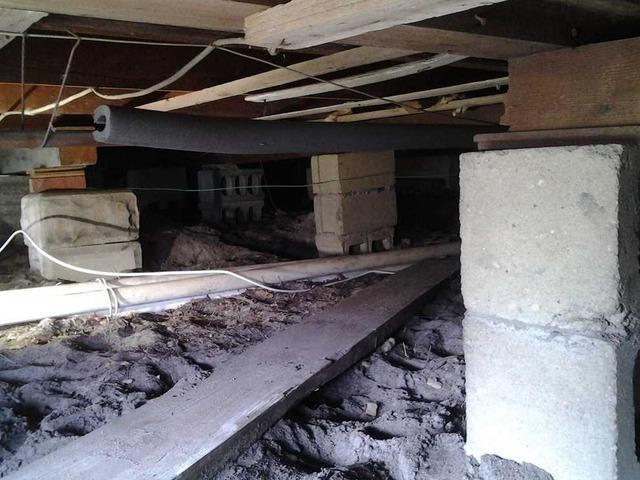Sagging Crawl Space Floors in Ocean Gate, NJ