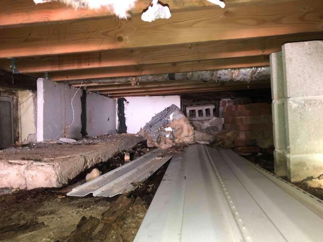 Wet Crawl Space Solution in Staten Island, NY