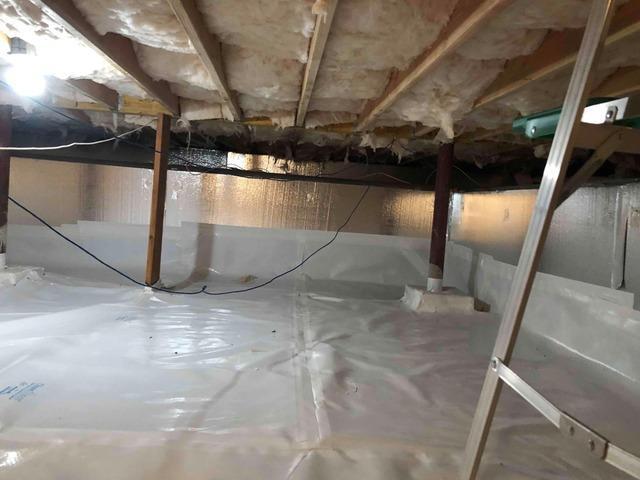 Crawl Space Sealed in Bridgewater, NJ