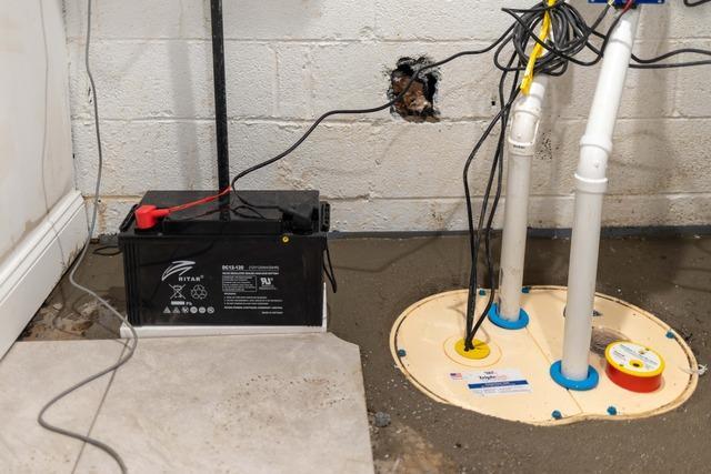 Sump Pump Installed in Fort Lee, NJ