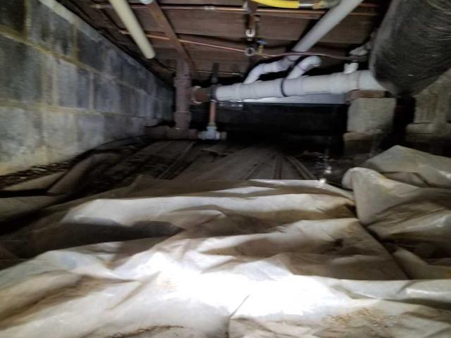 Crawl Space Encapsulation in Toms River, NJ