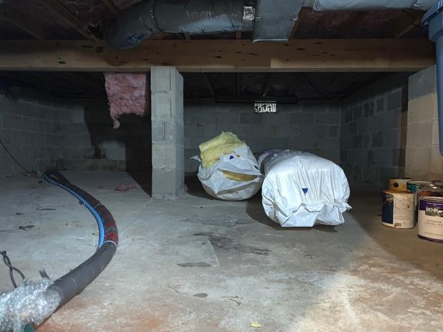 Crawl Space Sealed in Toms River, NJ