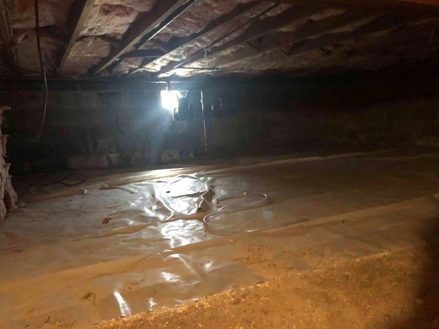 Crawl Space Encapsulation in North Plainfield, NJ
