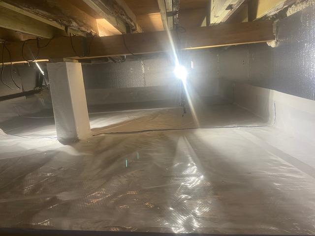 Damp Crawl Space Solution in Warren, NJ