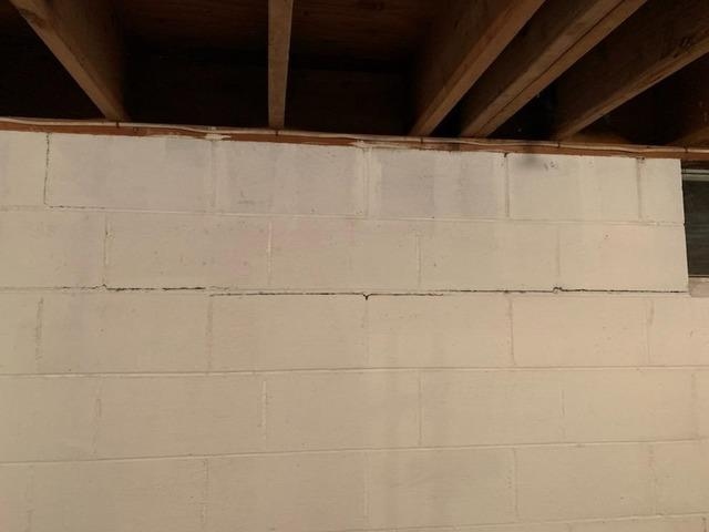 Foundation Wall Stabilized in Belvidere, NJ