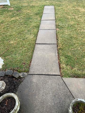 Concrete Walkway Leveled in Pequannock, NJ