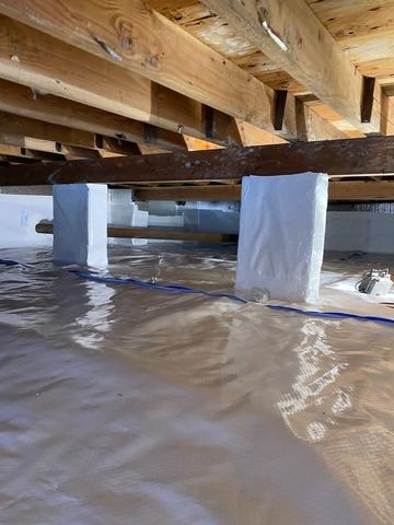 Damp Crawl Space Solution in Oakland, NJ