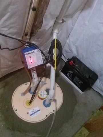 Sump Pump Replacement in Moorestown, NJ