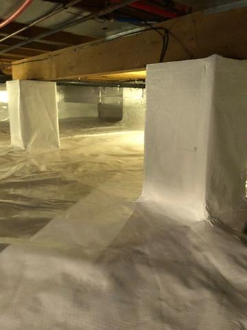 Crawl Space Encapsulation in Medford, NJ