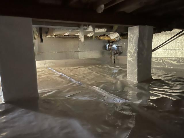 Damp Crawl Space Solution in Lawrenceville, NJ