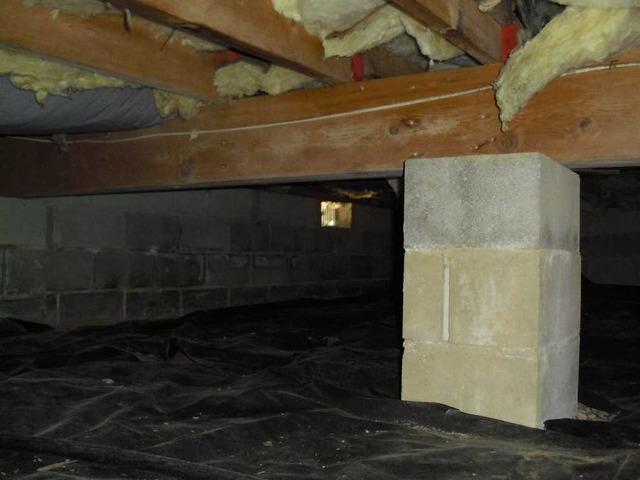Crawl Space Encapsulation in Forked River, NJ