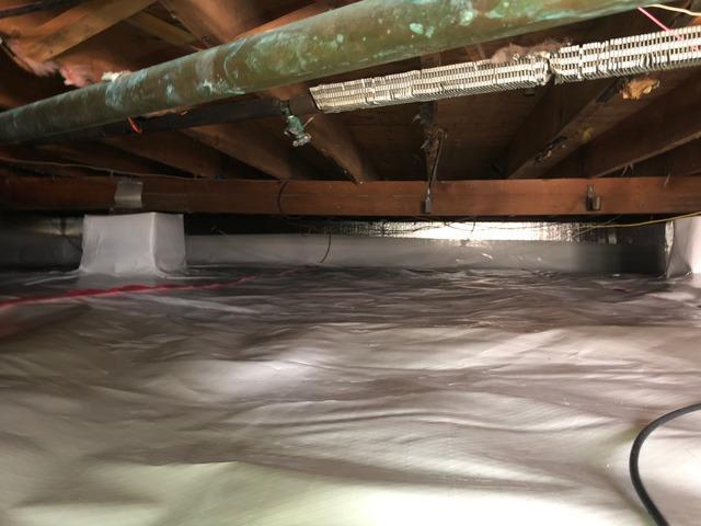 Damp Crawl Space Solution in Phillipsburg, NJ