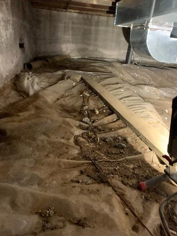 Damp Crawl Space Solution in Milford, NJ