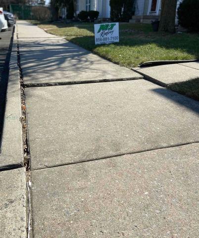 Sidewalk Repair in Mount Holly, NJ