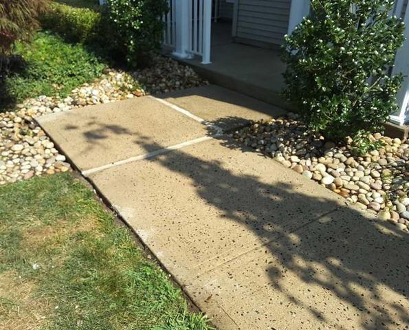 Sidewalk Repair in Tinton Falls, NJ