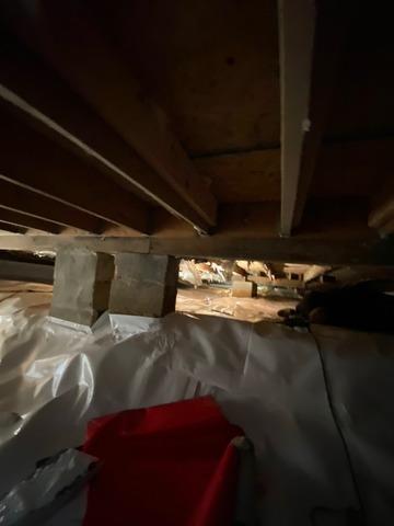 Crawl Space Sealed in North Brunswick, NJ