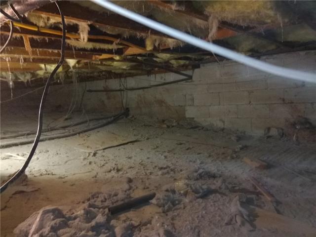 Moisture-Free Crawl Space in West New York, NJ