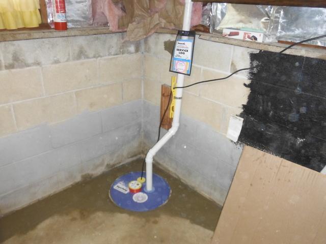 SuperSump Pump Installation in Oakhurst, NJ