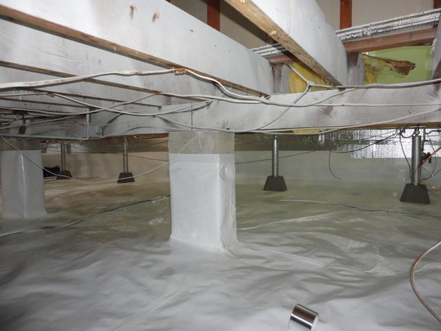 SmartJack and CrawlSpace installation in Lavallete, NJ