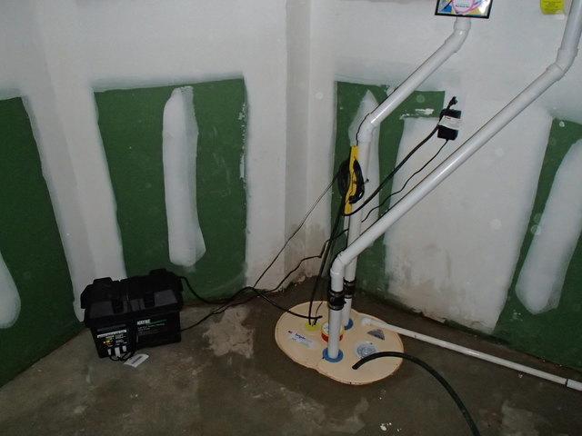 TripleSafe Sump Pump System in Cranford, NJ