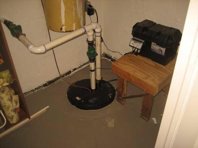 Sump Pump Installation in Hillsborough