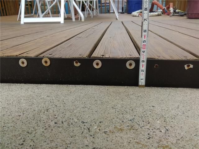 Lifted Pool Deck in Tennent