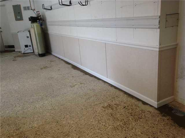 Waterproof Basement Wall Panels Installed in Three Bridges, NJ - After Photo