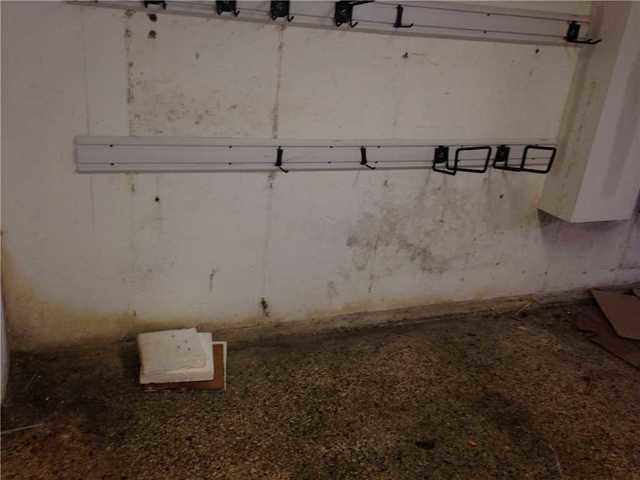 Waterproof Basement Wall Panels Installed in Three Bridges, NJ - Before Photo