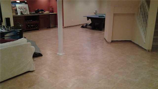Waterproof Floor in Bridgewater
