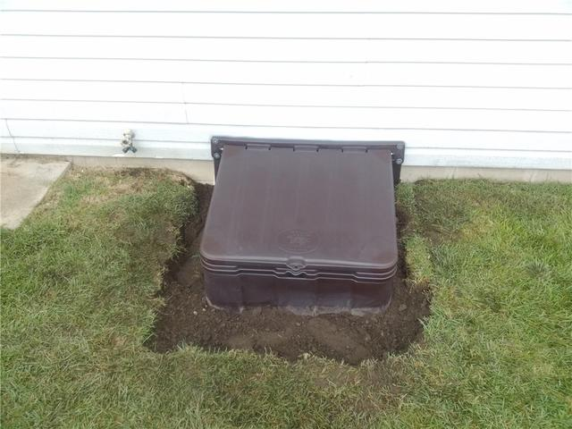 Crawl Space Entry Well Installed in Pottersville, NJ
