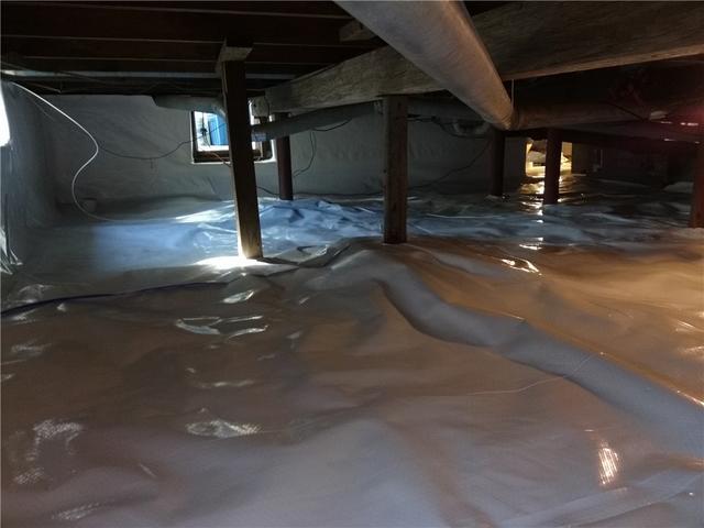 Moldy Crawl Space Repair in Spring Lake, NJ