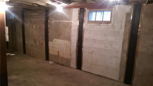 Foundation Wall Repaired in South Amboy, NJ